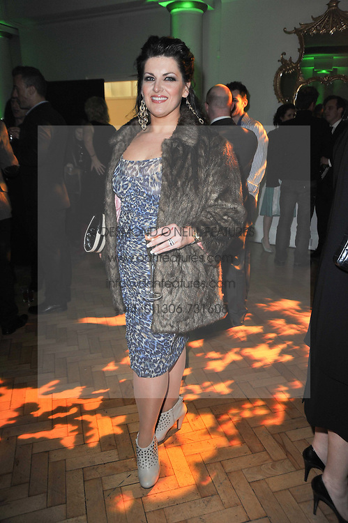 JODIE PRENGER at the press night of the new Andrew Lloyd Webber  musical 'The Wizard of Oz' at The London Palladium, Argylle Street, London on 1st March 2011 followed by an aftershow party at One Marylebone, London NW1