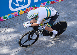 26.09.2018, Innsbruck, AUT, UCI Straßenrad WM 2018, Einzelzeitfahren, Elite, Herren, von Rattenberg nach Innsbruck (54,2 km), im Bild Sieger Rohan Dennis (AUS) // winner Rohan Dennis of Australia during the men's individual time trial from Rattenberg to Innsbruck (54,2 km) of the UCI Road World Championships 2018. Innsbruck, Austria on 2018/09/26. EXPA Pictures © 2018, PhotoCredit: EXPA/ Reinhard Eisenbauer