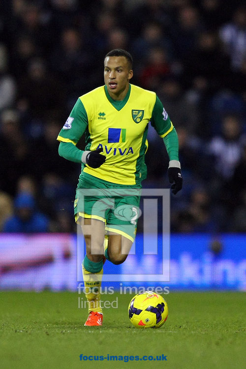 Picture by Paul Chesterton/Focus Images Ltd +44 7904 640267<br /> 07/12/2013<br /> Martin Olsson of Norwich in action during the Barclays Premier League match at The Hawthorns, West Bromwich.