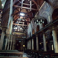 The Hanging Church - El Muallaqa Church, Cairo, Egypt
