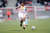 FOOTBALL - FRENCH CHAMPIONSHIP 2010/2011 - L1 - AS NANCY v STADE BRESTOIS - 18/09/2010 - PHOTO GUILLAUME RAMON / DPPI -  DJAMEL BAKAR (NAN)