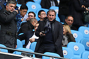 Manchester City's director of football Txiki Begiristain in the stands before the Premier League match between Manchester City and Chelsea at the Etihad Stadium, Manchester, England on 3 December 2016. Photo by Simon Brady.