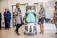 ZANDVOORT - Queen Maxima attends the conference of the International MS Federation (MSIF) on Wednesday afternoon 11 April in the MS expertise center of care institute Nieuw Unicum in Zandvoort. Subsequently, she will pay a working visit to the center. The MS Expertise Center is a multidisciplinary treatment center where accommodation, care and treatment of people with MS is combined. ROBIN UTRECHT<br /> <br /> <br /> ZANDVOORT - Koningin Maxima woont woensdagmiddag 11 april het congres van de Internationale MS Federatie (MSIF) bij in het MS-expertisecentrum van zorginstelling Nieuw Unicum in Zandvoort. Aansluitend brengt zij een werkbezoek aan het centrum. Het MS-expertisecentrum is een multidisciplinair behandelcentrum waar verblijf, zorg en behandeling van mensen met MS wordt gecombineerd. ROBIN UTRECHT