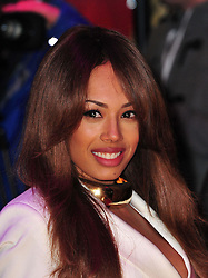 Jade Ewen during the Flight UK film premiere, Empire Leicester Square, London, United Kingdom, January 17, 2013. Photo by Nils Jorgensen / i-Images..