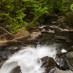 Red River Falls in Aroostook County, Maine. Deboullie Public Reserve Land.