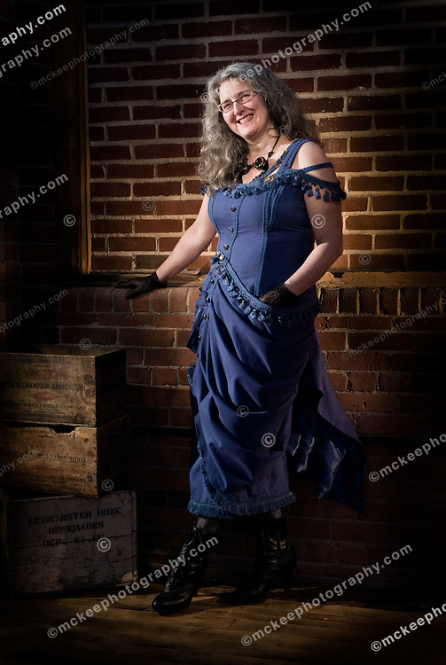 Melanie Rosenbaum.ModVic.Steampunk..Another Matthew McKee Photograph (http://www.mckeephotography.com)..For more information about this image, its availability or getting similar images for your marketing, please contact the studio:..Matt McKee Photography.www.mckeephotography.com.matt@mckeephotography.com.617-910-9314 m-f 9-5 pm est