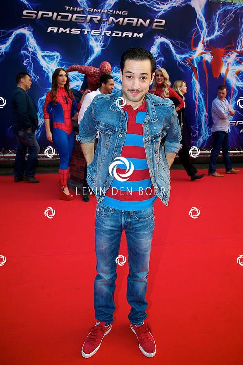 AMSTERDAM - Bij het Pathe ArenA Theater is de filmpremière van Spiderman II gehouden. Met hier op de foto  Valerio Zeno. FOTO LEVIN DEN BOER - PERSFOTO.NU
