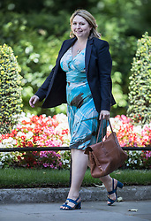 © Licensed to London News Pictures. 02/07/2018. London, UK. Northern Ireland Secretary Karen Bradley arrives in Downing Street for talks with DUP Leader Arlene Foster, Nigel Dodds MP and Prime Minister Theresa May. Photo credit: Peter Macdiarmid/LNP