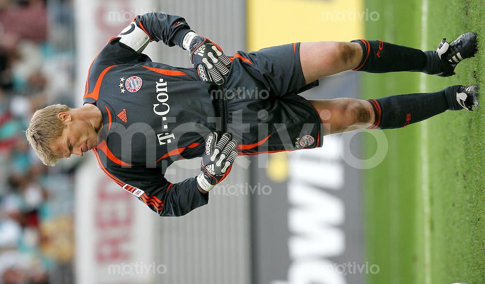 DFL Premiere-Ligapokal 2006 FC Bayern Muenchen - SV Werder Bremen Torhueter Oliver KAHN (FCB) enttaeuscht.
