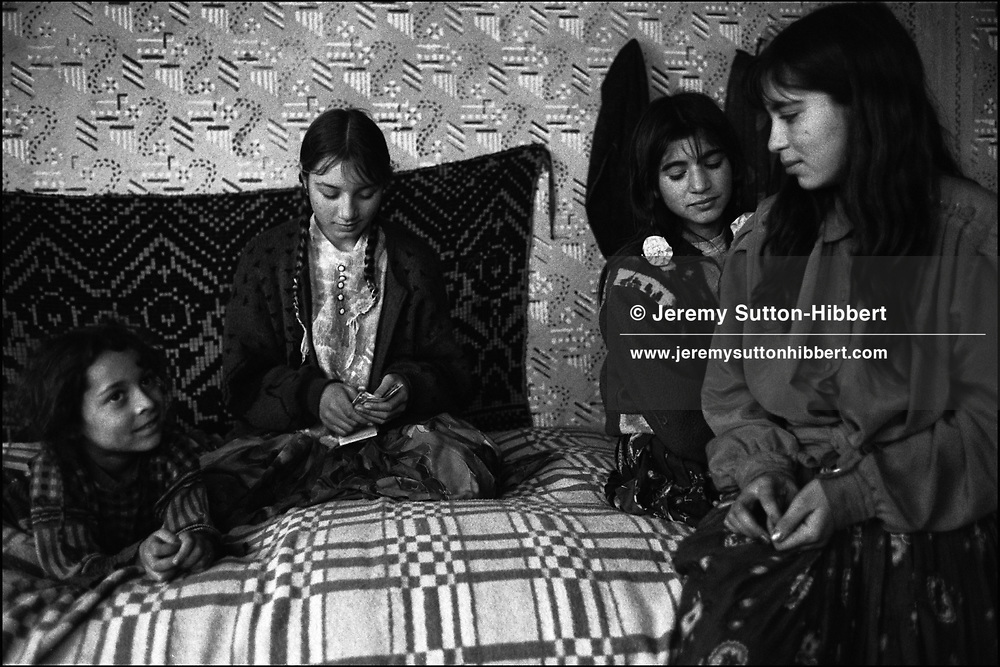 SINTESTI, ROMANIA. NOVEMBER 1996..©JEREMY SUTTON-HIBBERT 2000..TEL./FAX. +44-141-649-2912..TEL. +44-7831-138817.