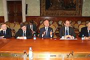 DESCRIZIONE : Roma Palazzo Chigi Commissione FIBA in visita per assegnazione dei Mondiali 2014<br /> GIOCATORE : Giovanni Petrucci Gianni Alemanno Gianni Letta  Rocco Crimi<br /> SQUADRA : Fiba Fip<br /> EVENTO : Visita per assegnazione dei Mondiali 2014<br /> GARA :<br /> DATA : 03/04/2009<br /> CATEGORIA : Ritratto<br /> SPORT : Pallacanestro<br /> AUTORE : Agenzia Ciamillo-Castoria/G.Ciamillo<br /> Galleria : Italia 2014<br /> Fotonotizia : Roma visita per assegnazione dei Mondiali 2014<br /> Predefinita :