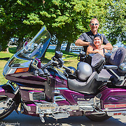 Northport-Harley-Davidson-Riders Taking A Break In Northport Michigan
