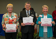 The Volunteers in Public Schools awards ceremony, May 12, 2016.