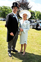 The DUKE & DUCHESS OF BEDFORD at at the first day of the 2009 Royal Ascot racing festival on 16th June 2009. Picture shows 15th Duke - Andrew Russell