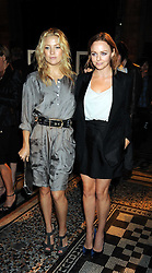 Left to right, STELLA MCCARTNEY and actress KATE HUDSON at British Style Observed - part of National Magazine's 30 Days of Fashion & Beauty festival featuring photographs by Mary McCartney with proceeds from the evening going to Macmillan Cancer Care held at the Natural History Museum, Cromwell Road, London on 16th September 2008.