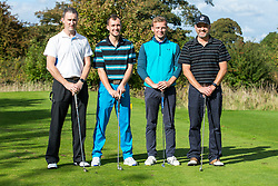 Keith Graham of Bristol Rovers joins team 3rd Generation Gas as they take part in the annual Bristol Rovers Golf Day - Rogan Thomson/JMP - 10/10/2016 - GOLF - Farrington Park - Bristol, England - Bristol Rovers Golf Day.