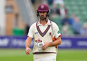 Tim Groenewald of Somerset during the Specsavers County Champ Div 1 match between Somerset County Cricket Club and Middlesex County Cricket Club at the Cooper Associates County Ground, Taunton, United Kingdom on 27 September 2017. Photo by Graham Hunt.