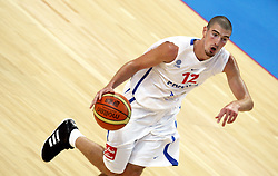Nando De Colo of France. France v Canada, friendly basketball match in preparation for the European championships. Palais Des Sports, Toulouse, France, 27th July 2011.