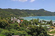 Rikitea town, Mangareva, Gambier Islands, French Polynesia<br />