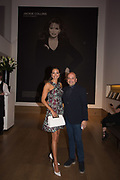 MELANIE SYKES; MO MOHSENIN, Bonhams host a private view for their  forthcoming auction: Jackie Collins- A Life in Chapters' Bonhams, New Bond St.  3 May 2017.