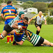 Rugby union game played between Old Boys University (OBU) v Tawa (Premier Reserve  at  Lindhurst Park, Tawa  New Zealand, on 25 March 2017.  Game won 27-11 by OBU.