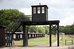 The 'Death Gate' at the former Nazi Germany Concentration Camp, Stutthof, Poland.