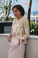 Actress Kristin Scott Thomas at the Only God Forgives film photocall Cannes Film Festival on Wednesday 22nd May 2013