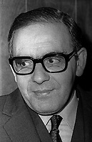 James O'Hara, solicitor, Belfast, N Ireland, UK, selected to sit on an Advisory Panel to William Whitelaw, Secretary of State for N Ireland, May, 1972, 19720500085<br /> <br /> Copyright Image from Victor Patterson, 54 Dorchester Park, Belfast, UK, BT9 6RJ<br /> <br /> t1: +44 28 9066 1296 (from Rep of Ireland 048 9066 1296)<br /> t2: +44 28 9002 2446 (from Rep of Ireland 048 9002 2446)<br /> m: +44 7802 353836<br /> <br /> e1: victorpatterson@me.com<br /> e2: victorpatterson@gmail.com<br /> <br /> The use of my copyright images is subject to my Terms & Conditions.<br /> <br /> It is IMPORTANT that you familiarise yourself with them. They are available on my website at www.victorpatterson.com.<br /> <br /> None of my copyright images may be used on a website unless they are visibly watermarked, i.e. © Victor Patterson within the body of the visible image. Metadata denoting my copyright must NOT be deleted. <br /> <br /> Web use is extra at currently recommended NUJ rates.