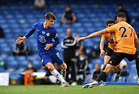 Football - 2019 / 2020 Premier League - Chelsea vs. Wolverhampton Wanderers<br /> <br /> Chelsea's Mason Mount plays the ball through for Olivier Giroud to score his side's second goal, at Stamford Bridge.<br /> <br /> COLORSPORT/ASHLEY WESTERN