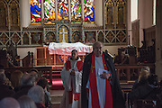 Good Friday, Procession of Witness, Old Town Hastings. 25 march 2016