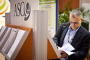 Chicago, IL - ASCO 2012 Annual Meeting: - General Views  of ASCO Program Materials at the American Society for Clinical Oncology (ASCO) Annual Meeting here today, Sunday June 3, 2012.  Over 31,000 physicians, researchers and healthcare professionals from over 100 countries are attending the meeting which is being held at the McCormick Convention center and features the latest cancer research in the areas of basic and clinical science. Photo by © ASCO/Scott Morgan 2012 Technical Questions: todd@toddbuchanan.com; ASCO Contact: photos@asco.org