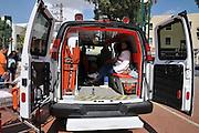 Israeli Magen David Adom Ambulance