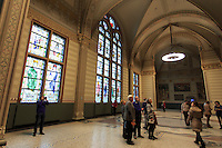 The Rijksmuseum is one of the most famous and popular of Amsterdam's museums, The Netherlands.