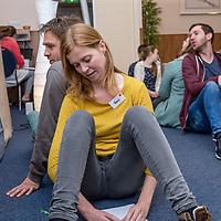 Nederland, Barneveld, 1 april 2017.<br />Prepairweekend. Christelijke stelletjes komen een weekend bij elkaar om zich voor te gaan bereiden op het huwelijk. Ze doen dat door allerlei spelletjes te spelen die betrekking hebben om hoe om te gaan met elkaar in het huwelijk.<br /><br /><br /><br /><br />Foto: Jean-Pierre Jans
