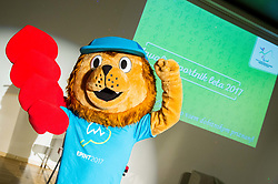 Mascot during Slovenian Disabled Sports personality of the year 2017 event, on December 6, 2017 in Austria Trend Hotel, Ljubljana, Slovenia. Photo by Vid Ponikvar / Sportida