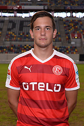 02.07.2015, Esprit Arena, Duesseldorf, GER, 2. FBL, Fortuna Duesseldorf, Fototermin, im Bild Christian Gartner ( Fortuna Duesseldorf / Portrait ) // during the official Team and Portrait Photoshoot of German 2nd Bundesliga Club Fortuna Duesseldorf at the Esprit Arena in Duesseldorf, Germany on 2015/07/02. EXPA Pictures &copy; 2015, PhotoCredit: EXPA/ Eibner-Pressefoto/ Thienel<br /> <br /> *****ATTENTION - OUT of GER*****