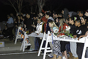 Dec. 1, 2013 - CA, USA -<br /> <br /> Paul Walker Crash Site Becomes Memorial<br /> <br />  U.S - Fans are seen at the memorial site for Actor PAUL WALKER, who died in a car accident in Valencia, California<br /> ©exclusivepix