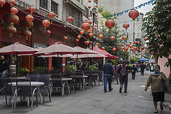 September 1, 2017 - Mexico City, Mexico City, MX - The neighborhood is located on two blocks of Dolores Street and consists of a number of restaurants and businesses that import goods. The neighborhood consists of approximately 3,000 families with Chinese heritage in Mexico City. -Wikipedia. (Credit Image: © Joel Alvarez via ZUMA Wire)
