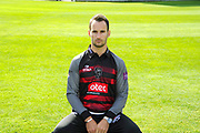 Royal London One-Day Cup kit portrait of Lewis Gregory during the Somerset County Cricket Club PhotoCall 2017 at the Cooper Associates County Ground, Taunton, United Kingdom on 5 April 2017. Photo by Graham Hunt.