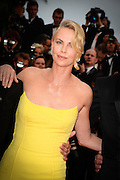 CHARLIZE THERON - 68th CANNES FILM  FESTIVAL RED CARPET FOR THE  FILM 'MAD MAX: FURY ROAD'<br /> ©Exclusivepix Media