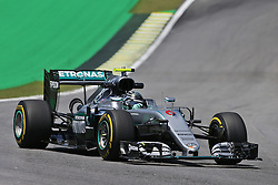 Nico Rosberg (GER) Mercedes AMG F1 W07 Hybrid.<br /> 11.11.2016. Formula 1 World Championship, Rd 20, Brazilian Grand Prix, Sao Paulo, Brazil, Practice Day.<br /> Copyright: Moy / XPB Images / action press