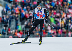 24.02.2019, Seefeld, AUT, FIS Weltmeisterschaften Ski Nordisch, Seefeld 2019, Nordischen Kombination, Teambewerb, Langlauf, im Bild Yoshito Watabe (JPN) // Yoshito Watabe of Japan during the cross country for the team competition Nordic Combined of FIS Nordic Ski World Championships 2019. Seefeld, Austria on 2019/02/24. EXPA Pictures © 2019, PhotoCredit: EXPA/ Stefan Adelsberger