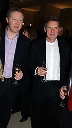 Left to right, RORY BREMNER and MICHAEL PALIN at a the Orion Publishing Group Author Party and a private view of the 'Turner Whistler Monet' exhibition at Tate Britain, Atterbury Street, London SW1 on 23rd February 2005.<br /><br />NON EXCLUSIVE - WORLD RIGHTS