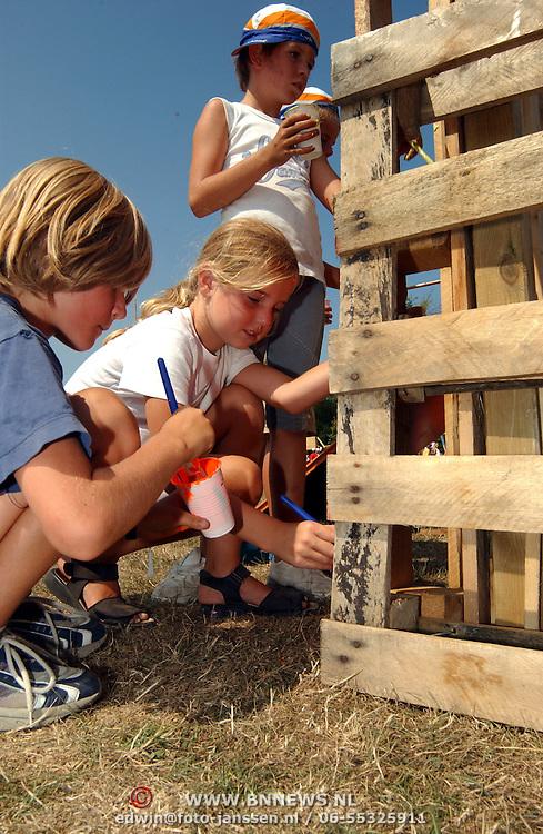 Start Kinder vakantieweek Bovenweg Huizen