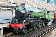 Mayflower Steam Locomotive - The Royal Windsor Steam Express