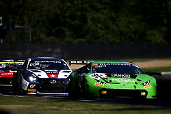 May 6, 2018 - Brands Hatch, Grande Bretagne - 82 GRT GRASSER RACING TEAM (AUT) LAMBORGHINI HURACAN GT3 LORIS HEZEMANS (NDL) FRANCK PERERA  (Credit Image: © Panoramic via ZUMA Press)
