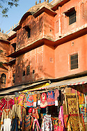Indian crafts for sale next in the Pink City in Jaipur, Rajasthan, India