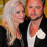 NLD/Amsterdam/20110129 - Presentatie Samsung Galaxy Ace, Dennis Weening en partner Stella Maassen