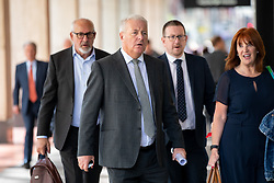 © Licensed to London News Pictures. 30/04/2019. London, UK. Labour MP Ian Lavery (centre) arrives at Labour Party headquarters for National Executive Meeting at which Labour's position on a second EU vote will be decided. Photo credit : Tom Nicholson/LNP