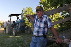 The Hatchett family plants a tobacco patch in Washington County, Wednesday, May 20, 2009 at Hatchett Farm in Springfield.